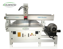 Woodworking Cnc Router Right with 4 Axis Rotary Axis